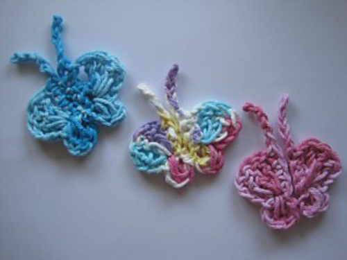 Free Easy Crochet Butterfly Patterns : Butterfly Crochet Pattern Alpaca Meadows