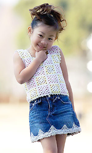 Free Crochet Patterns For Childrens Tops : Free Crochet Patterns: Free Crochet Patterns: Granny ...
