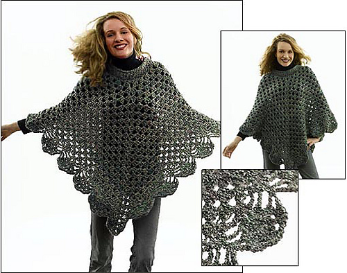 Free Crochet Or Poncho Patterns : Crochet With Cris: Review of the Coming Home Poncho