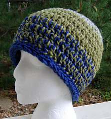 Double_double_hat_blue_green_small