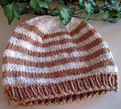 Knit_hat_for_anyone_tan_stripe_flat_small