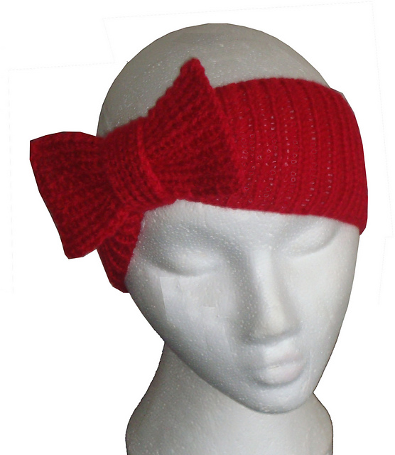 Headband knit pattern . - Crafts - Free Craft Patterns - Craft