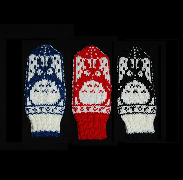 """Норвезькі рукавиці """"Тоторо"""""""