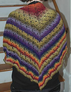 Ravelry: Noro Sock Yarn Lace Shawl pattern by Elaine Phillips