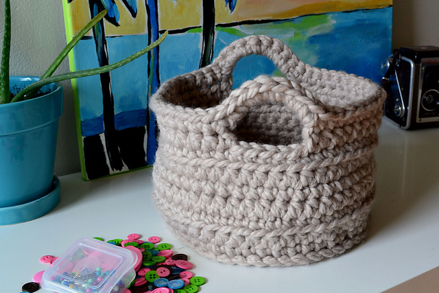 How to Crochet Gift Baskets | eHow.com
