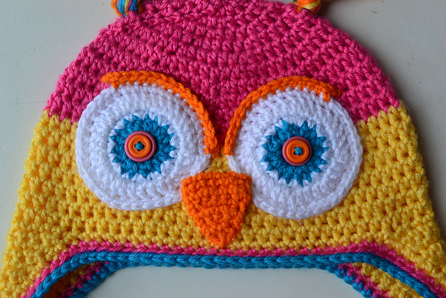 Crochet In Color Another Owl Hat