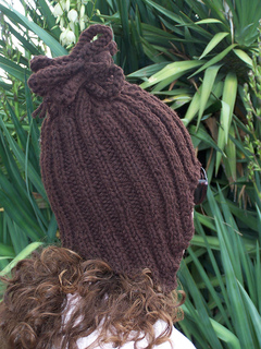Bulky_brown_beanie_with_ear_flaps__top_down_9a_small2