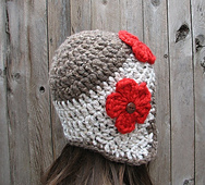 Double Crochet Hat Pattern With Ear Flaps : Ravelry: Crochet Ear Flap Hat pattern by Eva Unger