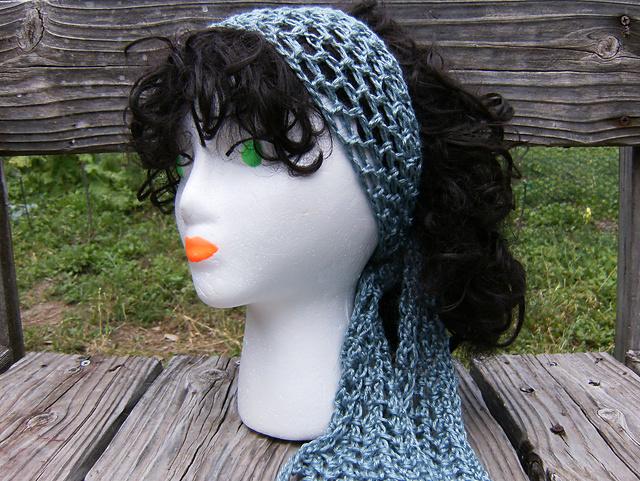Free Crochet Pattern For Head Scarf : Crafty Hippy: Gypsy Head Scarf