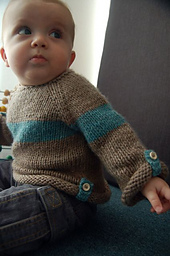 Adult Bulky Bear Hug Sweater - Free Knitting Pattern for
