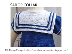 COLLAR CROCHET PATTERN | Vector Patterns