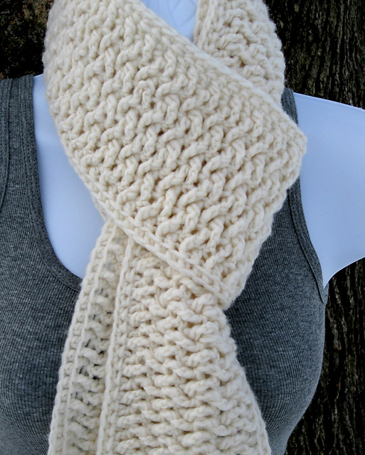 Crochet Scarf Pattern Male : Mens Scarf Crochet Pattern Learn To Crochet Autos Post