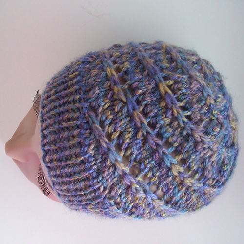 My crochet hat: SPIRAL CROCHET HAT
