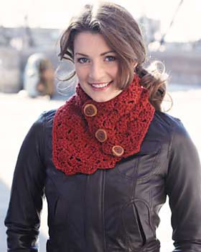 Neckwarmer Patten by Bernat Design Studio (Free)