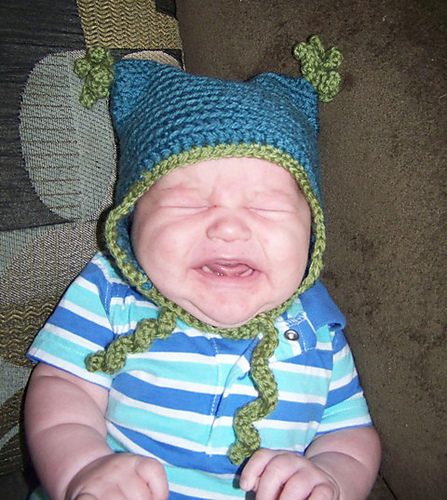 Storied Yarns: Fiber Arts Friday: FREE Baby Ear Flap Hat Crochet Pattern