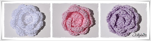 Medium Crochet Flower Pattern : Ravelry: Crochet Pattern Flowers Peony pattern by Jolanda ...