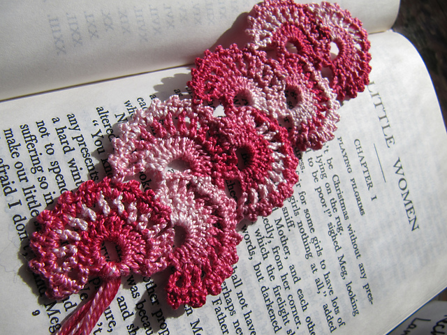 Free Crochet Bookmark Patterns : abeautifulramble.blogs...