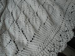 Ravelry: Cherry Leaf Shawl pattern by Lynn Burdick