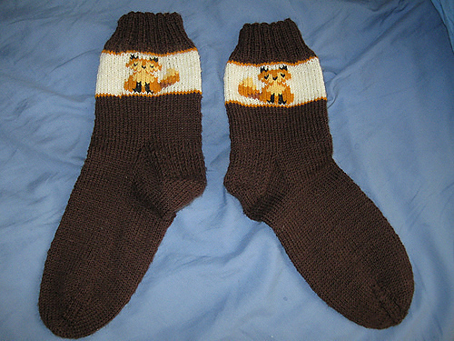 Small Fox Socks