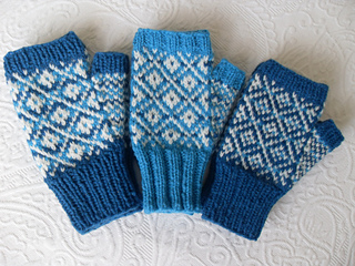 Ravelry: Newfoundland texting mitts pattern by Spannytickle Studio