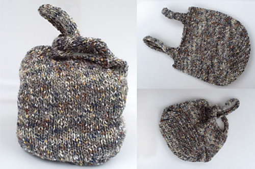 Japanese Knot Project Bag by Meg Strong