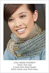 Tweed Eternity Scarf PDF
