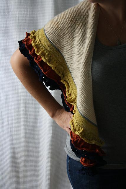 Ruches sjaal maken
