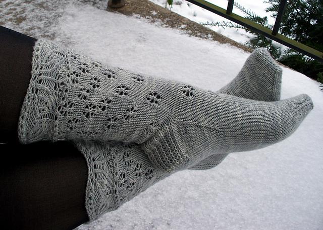 Snow Queen Socks
