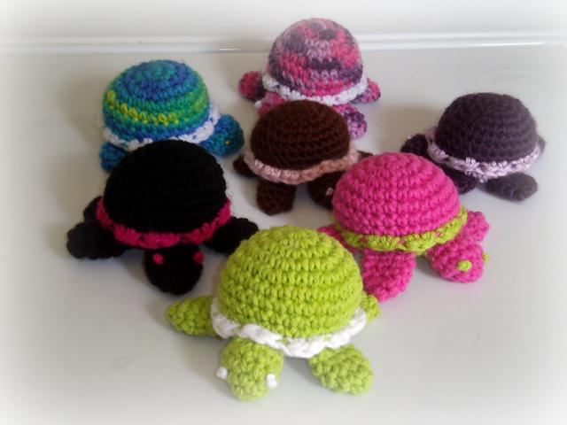 Itty Bitty Turtle Free Crochet Patterns