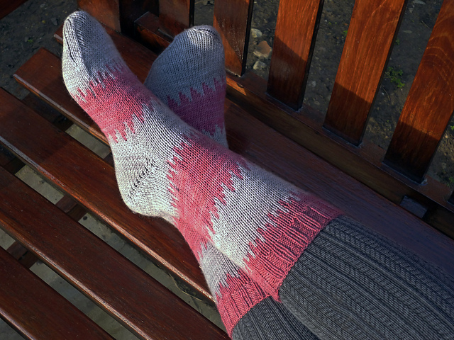 Beynac Sock Pattern