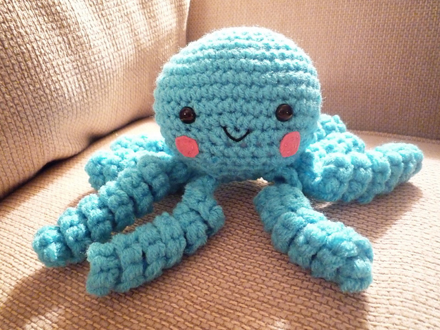 Knitting Pattern Octopus Toy : Live it . Love it . Make it.: Love it. Free Knitting Patterns