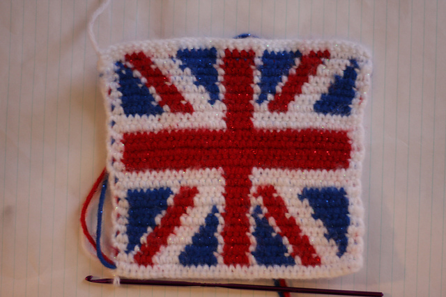 Crochet Pattern Union Jack : Bits and Bobs Zone: Q is for Queen