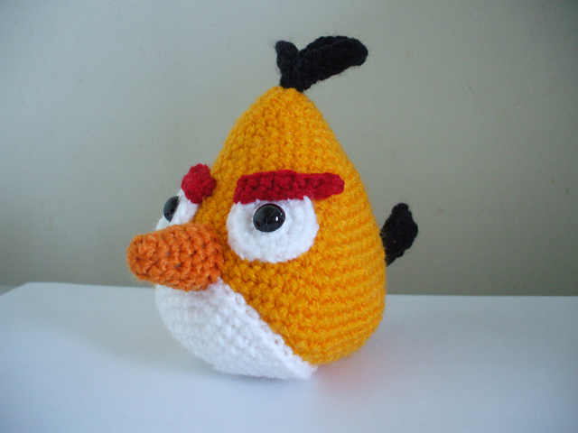 AmiCastle: Angry Birds Amigurumi Patterns
