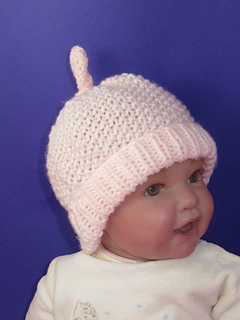 _baby__moss_stitch_top_knot_top_beanie_hat3_small2