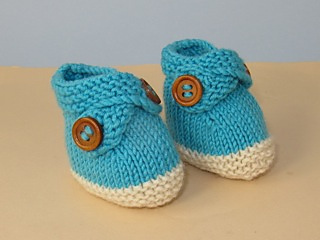 Baby_2_colour_cross_strap_booties13_small2