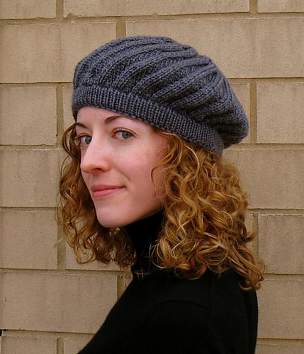 Knit Beret Pattern Free Gallery Knitting Patterns Free Download