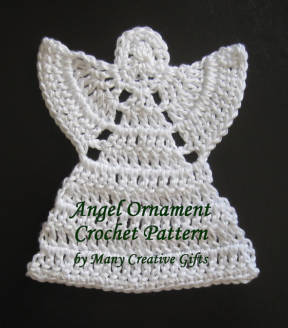 Crochet Angel : Pin Crocheted Angel 2 Picture on Pinterest
