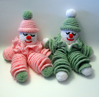 Clownies_pink_and_green1_small2