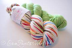 "Semi-Custom with Yarn Loft ""What Little Boys Are Made Of"" on Cestari Superfine"