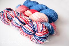 Semi-Custom with Custom Colorway by Lauren (formerly of Comfort Wool)