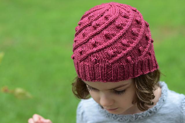 tuque tricotée manège détail de la texture