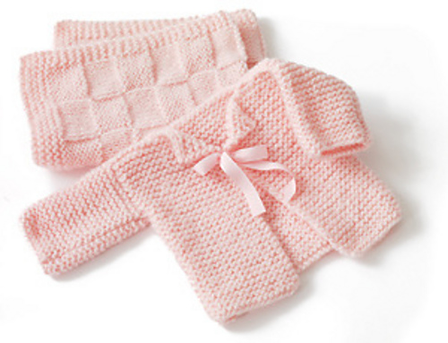 Knitting Ideas For Babies : Baby knitting patterns for beginners