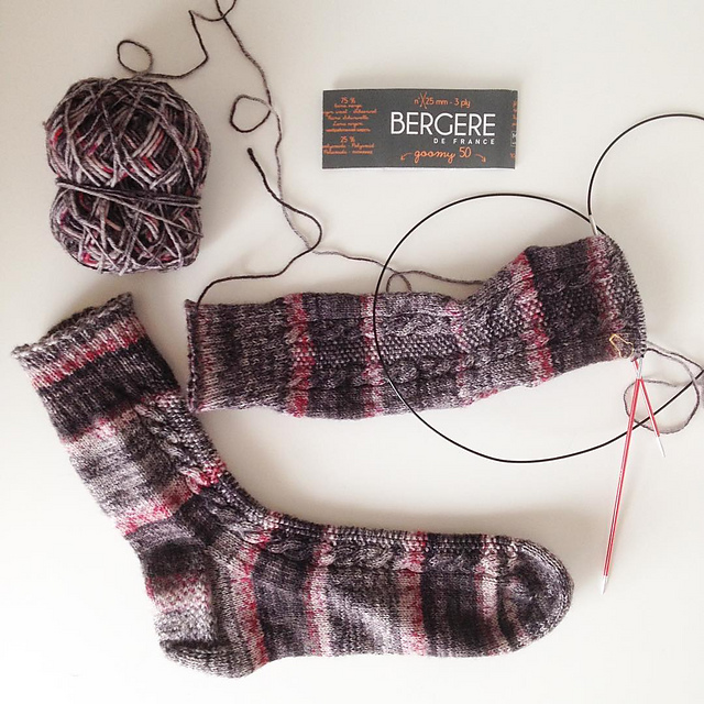 finished socks renée and the cat s meow
