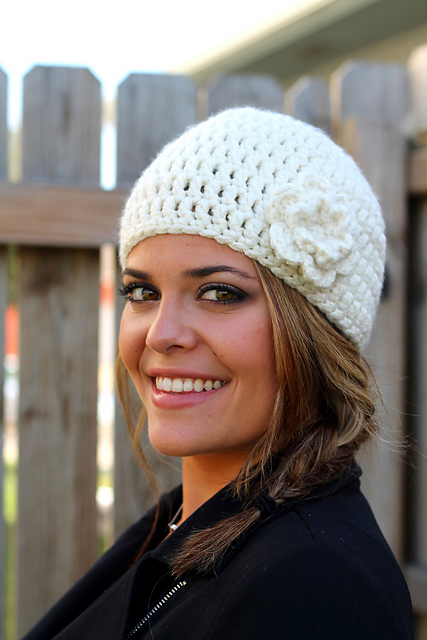 Easy Peasy Woman's Winter Hat
