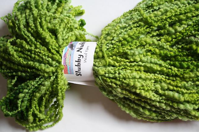 """Dancing Leaf Farm Slubby Nubby """"Green Grass"""""""