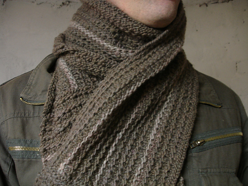 man's scarf picture