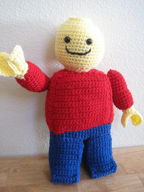Amigurumi Lego Man : Welcome to the Cozy Corner of Craft: Pattern Herd: Lego