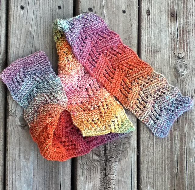 Knitting Stitches Sl1 Wyif : I can do it!: The Hollenhorst Scarf