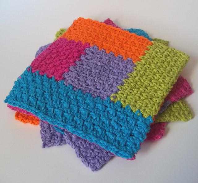 Crochet Attic Mondays Crochet Showcase Free Cute Log Cabin