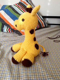 Ravelry: Baby Giraffe Amigurumi pattern by Courtney Deley